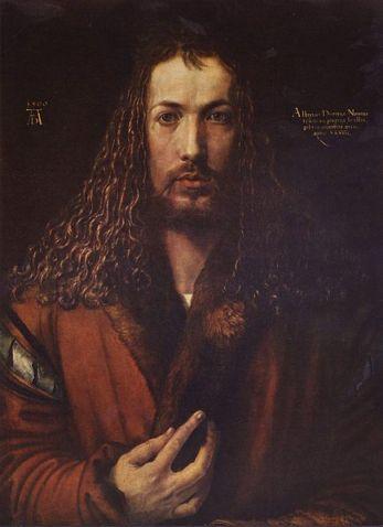 Auto-retrato de Albrecht Dürer (1500)